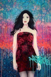 Bewitching by Troika -  sized 24x36 inches. Available from Whitewall Galleries